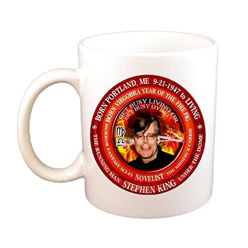 (Stephen King Writer Born Astrology Virgo Libra Cusp Zodiac Fire Pig Cup)
