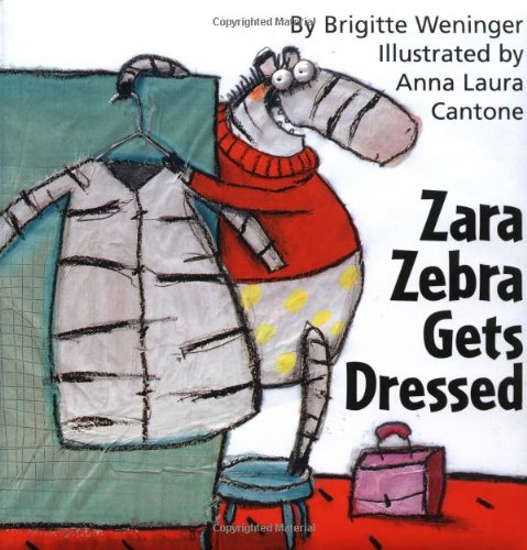 Zara Zebra Gets Dressed