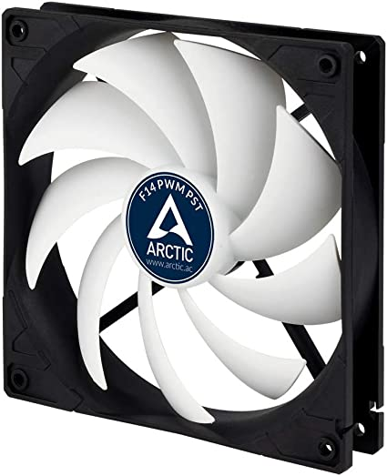 3 Pack Arctic F12 PWM 4-pin High Performance 120mm PC Case Cooling Fan 6Yr Wrnty