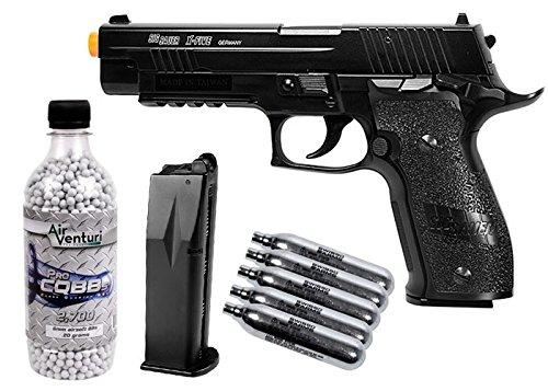 sig sauer p226 x-five co2 metal airsoft pistol kit airsoft gun(Airsoft Gun) by Sig Sauer
