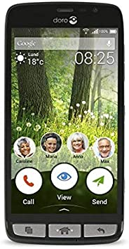 Doro Liberto 825 SIM única 4G 8GB Negro: Doro: Amazon.es ...