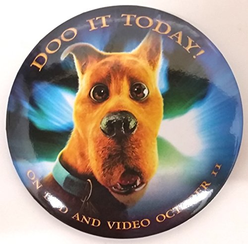 Scooby Doo 2002 Movie Promotional Button