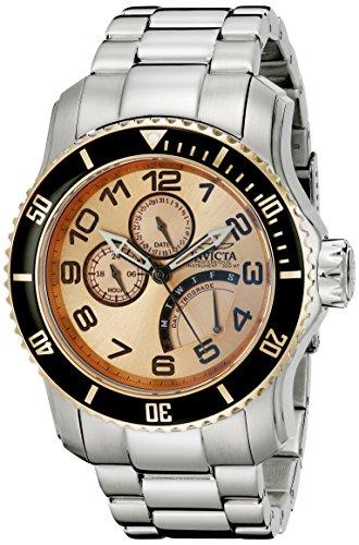 Invicta Men s 15338 Pro Diver Rose Gold Tone Dive Watch