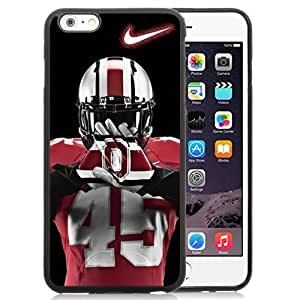 Customized Iphone 6 Plus Case with Ncaa Big Ten Conference Football Ohio State Buckeyes 4 Protective Cell Phone TPU Cover Case for Iphone 6 Plus Generation 5.5 Inch Black by mcsharks