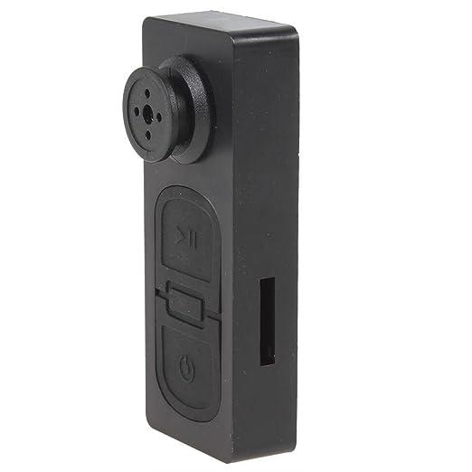 Mini portátil cámara espía botón tarjeta SD de DV Videocámara con 720 x 480 videocámara de vídeo registrador botón cámara estenopeico seguridad oculto ...