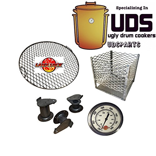 Ugly Drum Smoker Parts Kit, Build your own UDS