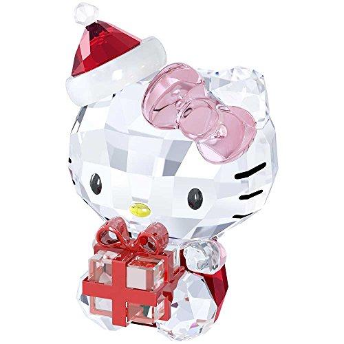 Swarovski Hello Kitty Christmas Gift Figurine