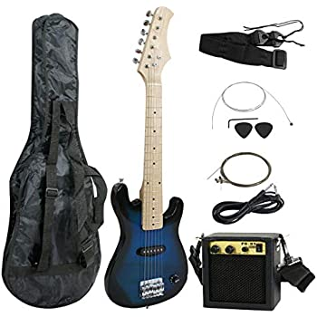 best choice products 41in full size beginner electric guitar bundle kit w case. Black Bedroom Furniture Sets. Home Design Ideas