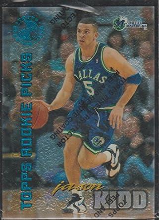 1995 Stadium Club Jason Kidd Mavericks Topps Rookie Picks Basketball