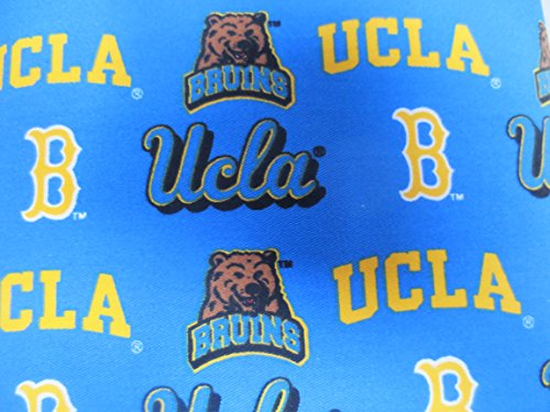 UCLA BRUINS NEW TWILL DESIGN 65% POLY 35% COTTON (Crystal Bruins)