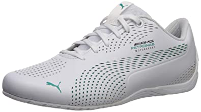 Puma Mercedes Drift Cat 5 Ultra Sneaker, Bianco (Puma White