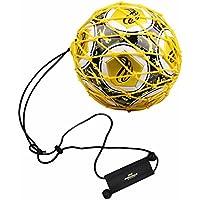 PodiuMax Handle Solo Soccer Kick Trainer Ball Locked Net...