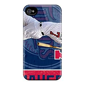 New Premium Flip Case Cover Minnesota Twins Skin Case For Iphone 4/4s