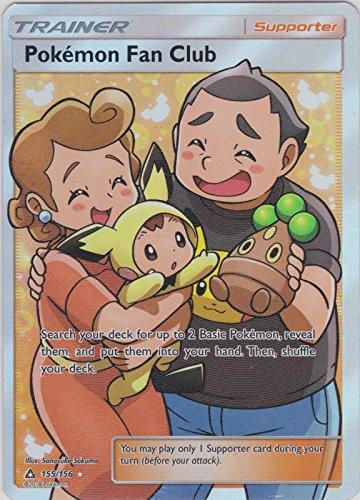 Pokemon, S&M5, Ultra Prism - Pokemon Fan Club 155/156, New, Mint, Full (Full Clubs)