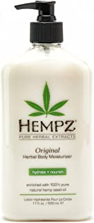 product image for Hempz Original Herbal Body Moisturizer with Hemp Seed Oil, 17 Ounce