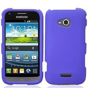 For Samsung Galaxy Victory 4G LTE L300 Hard Cover Case Dark Purple