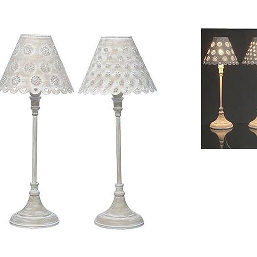 Lampe Fleur 2sort H52cm Material Eisen Amazon Co Uk Lighting