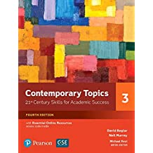 Amazon david beglar books contemporary topics 3 with essential online resources 4th edition fandeluxe Gallery