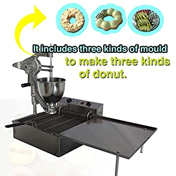 Amazon.com: Yoli® Comercial Manual multifuncional Donut ...