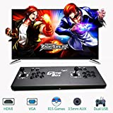 PinPle Arcade Game Console Pandora's Box 4S 615 in 1 Video Games Kit Classic Arcade Game Machine with HDMI & VGA Output for King Of Fighters