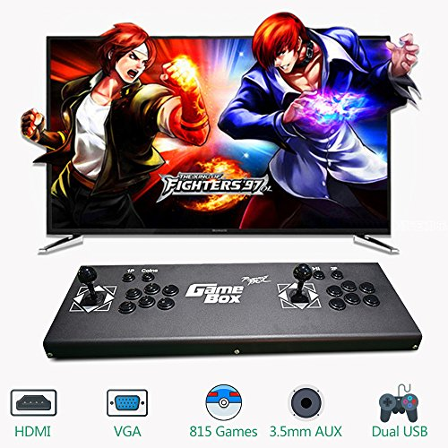 - PinPle Arcade Game Console Pandora's Box 4S 815 in 1 Video Games Kit Classic Arcade Game Machine with HDMI & VGA Output for King of Fighters (KOF)