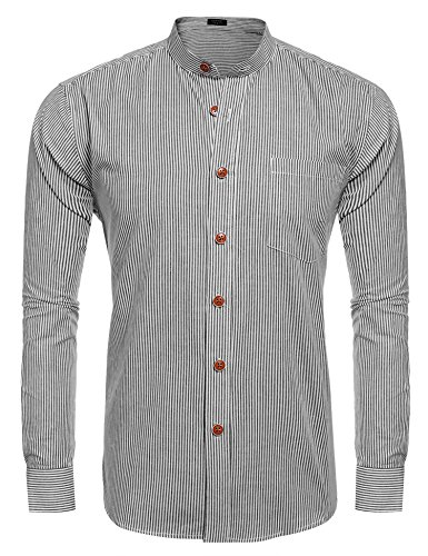 dress shirts without front pockets - 6