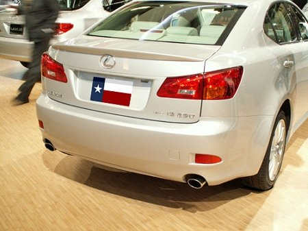 - Lexus IS250 / IS350 Lip Mount Factory Style Spoiler 2006-2013-Starfire Pearl Paint code: 077