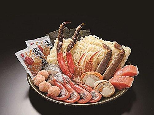 カニ鍋海鮮鍋しゃぶしゃぶギフトセット(海鮮寄せ鍋Aセット)