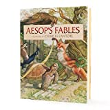 Charles Santore Aesop's Fables Book Illustrated by Charles Santore toy gift idea birthday