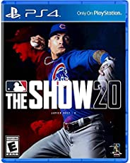 MLB The Show 20 for PS4 - PS4 Exclusive - ESRB Rated E (Everyone) - Max Number of Multi-Players: 8 - Sports Ga