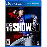 MLB The Show 20 for PS4 - PS4 Exclusive - ESRB Rated E (Everyone) - Max Number of Multi-Players: 8 - Sports Game - Releases 3/17/2020