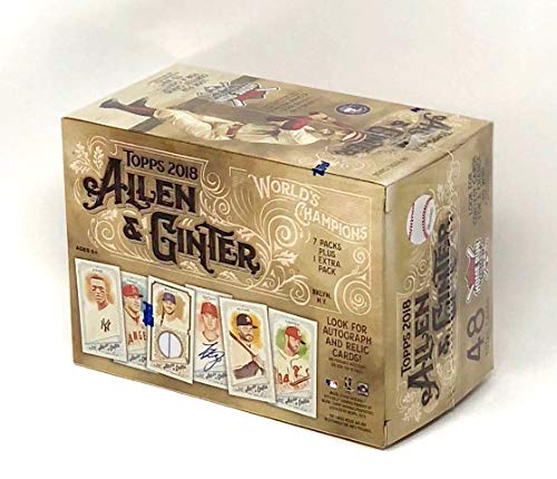 Large Product Image of Topps 2018 Allen & Ginter Baseball Mass Value Box