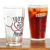 CafePress - Grey's Anatomy' You're My Person - Pint Glass, 16 oz. Drinking Glass