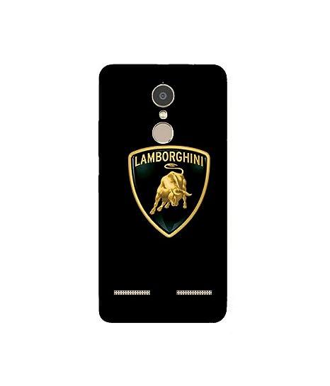 Gripit Lamborghini Logo Printed Case For Lenovo K6 Amazon In