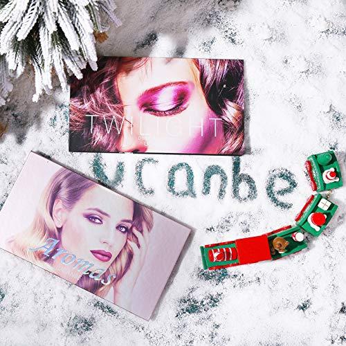 2Pcs UCANBE Twilight Dusk + Aromas Nude Eyeshadow Palette Makeup Set, Matte Shimmer Glitter Pressed Pearl All Highly…