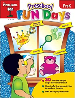 Preschool Fun Days The Mailbox Books Staff 9781612762128 Amazon