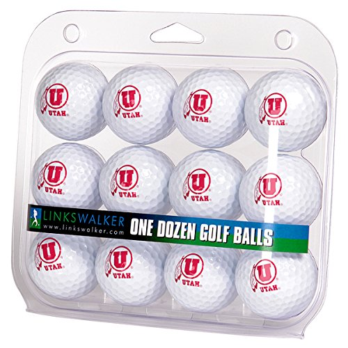 Ncaa Dozen Golf Ball - LinksWalker NCAA Utah Utes - Dozen Golf Balls