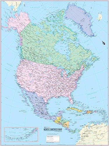 Cool Owl Maps North America 30