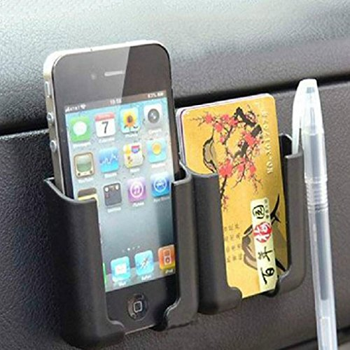 Voberry Car Universal Adhesive Storage Multi Use Holder For Smartphone GPS PDA ID CARD