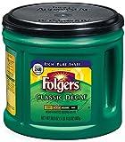 Folgers Classic Roast Decaffeinated Ground Coffee, 30.5 Ounce