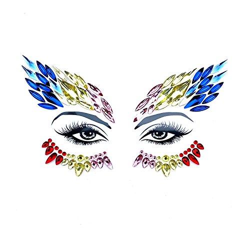 Neva Nude Phoenix BodiStix In Your Face Edition Sticker