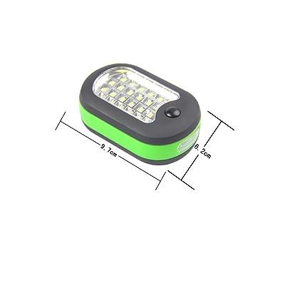 Lumière extérieure de LED Éclairage super lumineux Imperméable et portable Feux de camping en plein air , Green