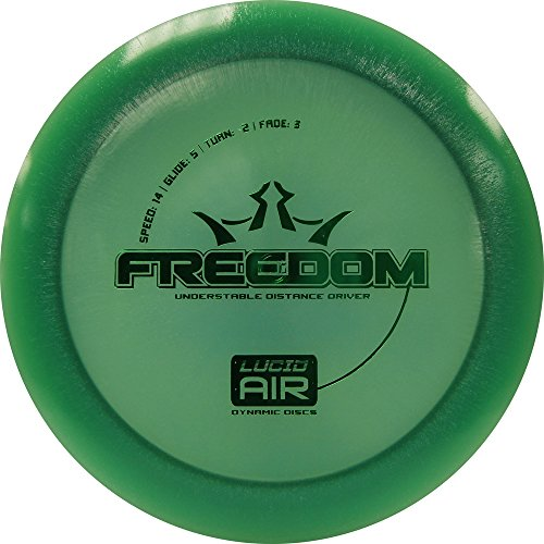 Dynamic Discs Lucid AIR Freedom Distance Driver Golf Disc [Colors May Vary] - 145-159g