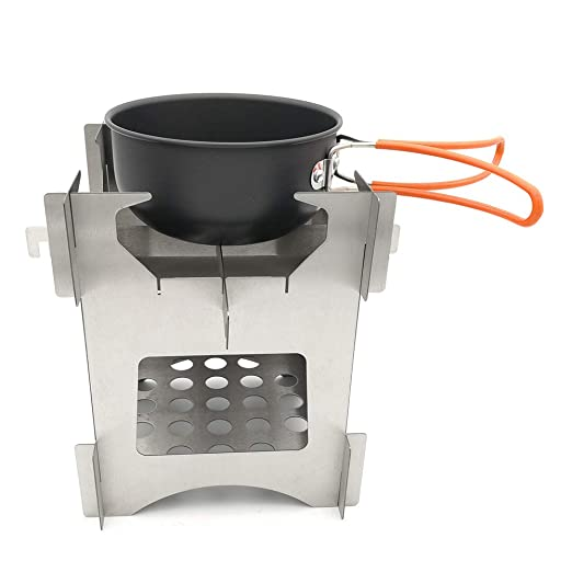 Amazon.com : ACCDUER Camp Stove, Lightweight Backpacking Stove Small ...