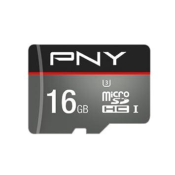 PNY Turbo Memoria Flash 16 GB MicroSDHC Clase 10 UHS-I - Tarjeta de Memoria
