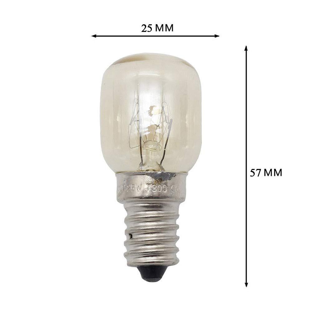 25Watt E14 originale sostituzione lampadine a incandescenza Homankit 8 lampada di sale dell Himalaya lampadina