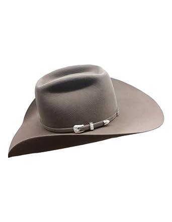05200a5f90a53 American Cowboy Hat Mens Felt Lucky 7X Brick Crown 6-UN at Amazon ...