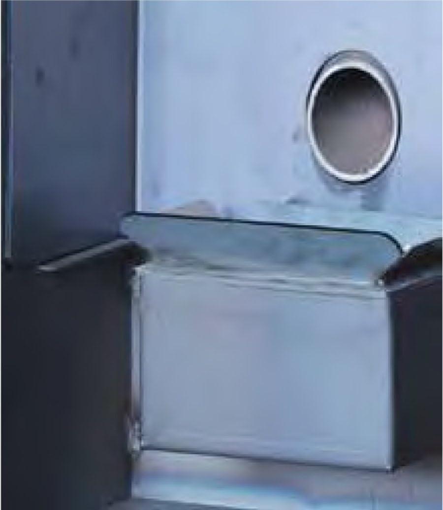 Pelletofen Hei/ßluft wirtschaftliche Marke Zentrum Flam ipercalor Basic Gemma 1/Beschichtung Farbe Beige Rot Bordeaux Grau Anthrazit Leistung 9/kW Heizen Umwelt Raum Schublade l44,5p48,5h100/cm beige