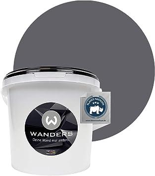 Wanders24 Pintura de pared pintura de pizarra mate (3 litros, Gris grafito) lavable, creativo, escribible, pintura de pizarrón: Amazon.es: Bricolaje y herramientas