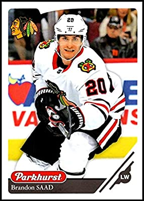 premium selection 674dd 09263 2018-19 Parkhurst Hockey  93 Brandon Saad Chicago Blackhawks Official NHL  Trading Card made by Upper Deck